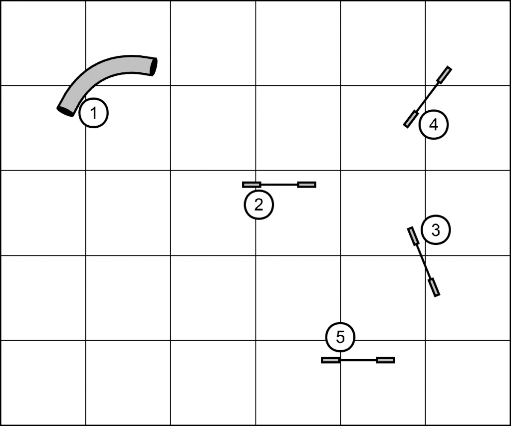 Inverted Pinwheel Using Tunnel